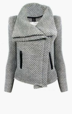 Kristen Honeycomb Moto Jacket | Fashion Frenzy
