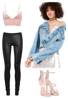 """Sweet heartbreaker"" by vankaa on Polyvore featuring Fleur du Mal, BDG, Rick Owens and Giuseppe Zanotti"