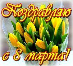 March, Flowers, 8 Martie, Postcards, Live, Happy, Design, Working Holidays, Florals