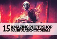 15 Amazing Photoshop Manipulation Tutorials