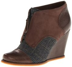 Plenty by Tracy Reese Women's Jackie Bootie, Brown Plaid, 38.5 EU/8.5 M US Plenty by Tracy Reese,http://www.amazon.com/dp/B007ND7PW8/ref=cm_sw_r_pi_dp_RlPetb1JYSGCFVMB
