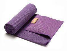 Hugger mugger yoga towel purple