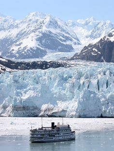 Margery Glacier in Glacier Bay, Alaska The Places Youll Go, Great Places, Places To See, North To Alaska, Alaska Usa, Beautiful World, Beautiful Places, Alaska Cruise, Belleza Natural