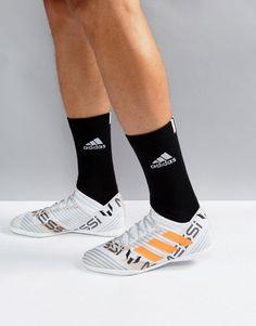 new arrival 8460e 359b5 adidas Soccer Nemeziz x Messi Tango Indoor Sneakers In White CG2967 -  Indoor Soccer Cleats,