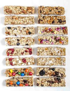 8 Easy Homemade Granola Bar Recipes You Should Try TODAY http://recipesheaven.com/paleo