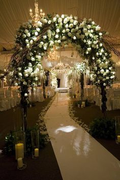 Ideal Wedding Isle. Lighted. Magical. Romantic.