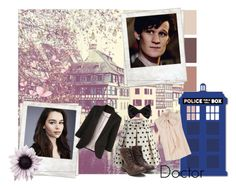 The Doctor// Genderbent by xxfantasy-freakxx on Polyvore featuring MaxMara, Chicwish, New Look and Polaroid