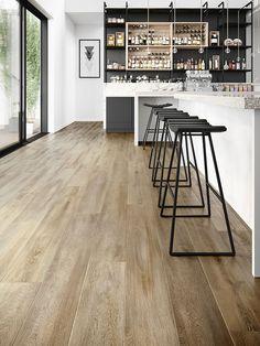 Santa Cruz 59253 Wood Effect Luxury Vinyl Flooring Moduleo Lounge Decor, Hardwood Tile, Living Room Flooring, Wooden Living Room, Kitchen Vinyl, Flooring, Wood Effect Floor Tiles, Restaurant Design Rustic, Vinyl Flooring