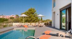 Villa Helios - Authentic Crete, Villas in Crete, Holiday Specialists Crete, Villas, Bedrooms, Outdoor Decor, Holiday, Vacations, Mansions, Bed Room, Villa