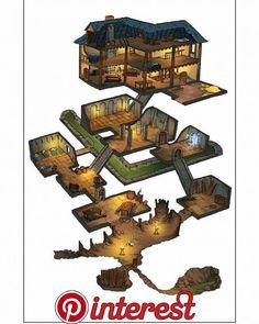 Haus + U-Bahn - Mine Minecraft World Minecraft Legal, Minecraft World, Minecraft Plans, Minecraft Tutorial, Minecraft Blueprints, Minecraft Seed, Minecraft Blocks, Minecraft Survival, Fantasy House