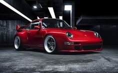 "Porsche 993 ""400R"" with a custom air-cooled 4.0 L flat-six"