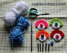 homemade@myplace: Make it ! Mini clown faces !!!