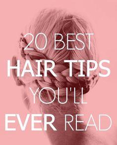 Best Hair Tips: Lustrous