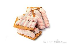 Photo about A shot of some delicious marshmallow biscuits on white. Image of biscuits, white, marshmallow - 7819588 1980s Childhood, My Childhood Memories, Sweet Memories, Old Sweets, Retro Sweets, Retro Recipes, Vintage Recipes, Just For You