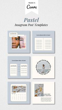 Layout Do Instagram, Instagram Feed Planner, Instagram Feed Ideas Posts, Creative Instagram Stories, Instagram Post Template, Instagram Design, Instagram Story, Graphic Design Fonts, Presentation Design