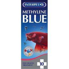 Methylene Blue: anti-fungal, anti-parasitic for fish