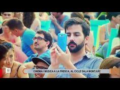 Cine a la Fresca. Reportaje sobre la Sala Montjuïc, o lo que es lo mismo, cine a la fresca, los conciertos y películas que se programan cada día durante la temporada.