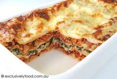 Exclusively Food: Chicken Lasagne Recipe