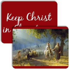 Keep Christ in Christmas is a memory matching game (like Concentration) created by Curtis Gibby.  It has the following match cards: The Road to Bethlehem, No Room in the Inn, The Nativity, His Name Shall Be Called Wonderful, Good Tidings of Great Joy, Adoration of the Shepherds, The Wise Men