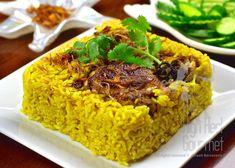 Thai Halal Chicken Rice Briyani - Khao Mok Gai by The High Heel Gourmet 19