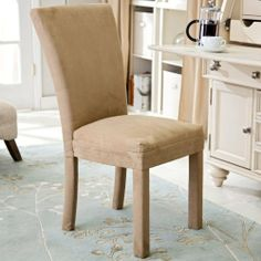 Bernards Parson Dining Chair - 2 Chairs Color - Camel by Bernards. $249.99. Several festive color options. Durably constructed, yet stylish. Completely upholstered in ultra-soft microfiber fabric. Sturdy wooden legs for maximum stability. Some assembly required. Parson Dining Chairs feature clean lines and sturdy construction, and are classic favorites for any dining area. These cozy chairs are upholstered with microfiber fabric, which is wonderfully soft to the touc...