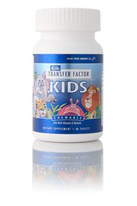 Transfer factor Kids is suggested for : colds, allergies (asthma, rhinitis, dermatitis), malnutrition, lack of development, excellent multivamin