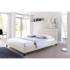 <strong>Wholesale Interiors</strong> Baxton Studio Hillary Upholstered Platform Bed