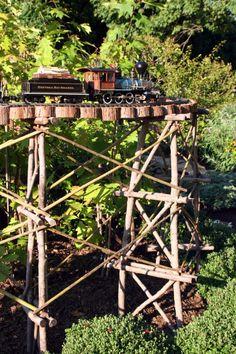 Longwood Garden trains