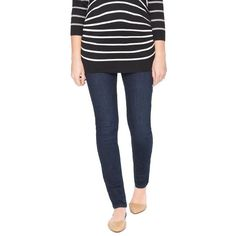 The Ten Best Maternity Jeans Under $100// #1 Motherhood Maternity Super Stretch Skinny Maternity Jean