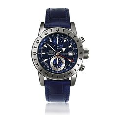 #Glycine - Airman 9 - Whenever the subject of aviation comes up, the name of Glycine is mentioned as one of the pioneers of watchmaking for pilots and frequent travellers. Beginning in 1953, Glycine started production of the Airman, a watch that became legendary for introducing multiple time-zone watches to the market.