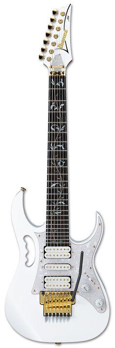 Electric Guitars - JEM7V7 | Ibanez guitars... LOVE the fret design!