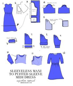 Merrick's Art // Style + Sewing for the Everyday Girl: DIY FRIDAY: MAXI TO MIDI REFASHION