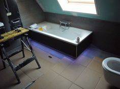 Led strip lights bathroom google search bathrooms pinterest