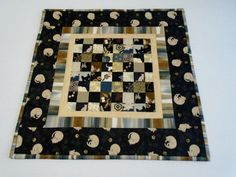 Elegant Quilted Table Topper Table Runner by ForgetMeNotQuilteds