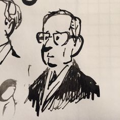 Watching Alec Guinness in Tinker Tailor Soldier Spy. by apelad