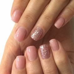 Blush Pink Nails, Pink Toe Nails, Sns Nails Colors, Fancy Nails, Gel Nails, Shellac, Fabulous Nails, Gorgeous Nails, Chic Nails