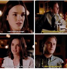 FitzSimmons on their date <3