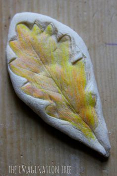 Make some coloured salt dough leaf print models using everyday ingredients. All members of the family can get involved in this Autumn nature activity craft