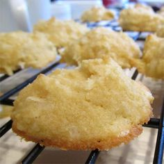 Coconut Cookies with coconut flour