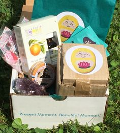 Mindfulness Box subscription box August 2015 unboxing & review August 2015: Crunchy Parent Use code CRUNCHY10 for 10% off purchase.