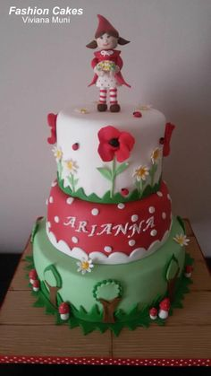 Little Red Riding Hood - Cake by fashioncakesviviana