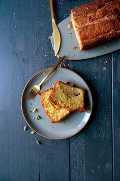 Sunken Cardamom Apple Cake | eat in my kitchen