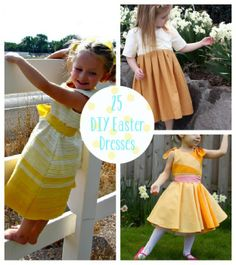 25 DIY Easter Dresses