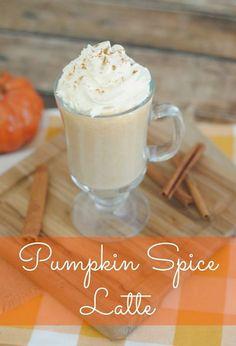 Grandpa Shorter's Pumpkin Spice Latte Recipe