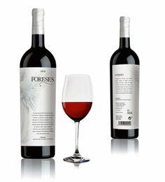 """""""Foreses"""", elegante branding para vino"""