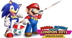 """Revive la emoción de los Juegos Olímpicos con """"Mario & Sonic at the London 2012 Olympics"""" http://amzn.to/P5MOG7 Costo aprox.: $61.70..."""