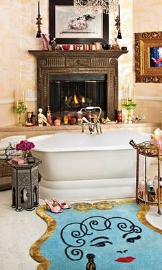 Want. What an amazing bathroom. Wantwantwantwantwant. Can't have unless we win vast amounts of cash and move house. Still wantwantwantwantwantwantwant.