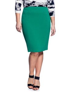 eloquii Pieced Front Pencil Skirt Women's Plus Size Green 20W eloquii,http://www.amazon.com/dp/B0091J2GL2/ref=cm_sw_r_pi_dp_EV9nsb0NJYNWPQ6G