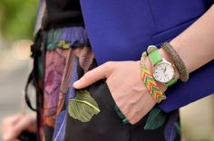 Lime green #Timex wrist candy
