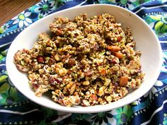 Crunchy Quinoa and Buckwheat Granola from The Fresh Direction